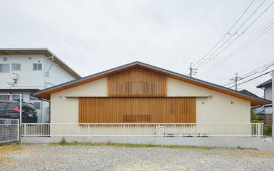 二人暮らしの平屋の家