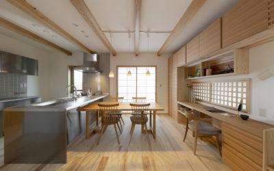 「藤乃庵」素肌で感じる無垢の木の家