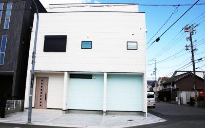 【堺市堺区】店舗と居住スペースをしっかり分けて仕事に取り組みやすく家事をしやすいお家