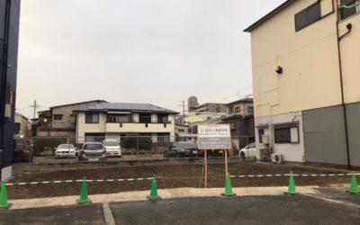 本社 新築工事 【地盤調査~基礎工事】