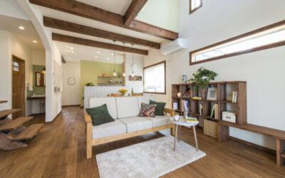 【モデルハウス】自然素材をたっぷり使ったお家【堺市堺区砂道町】