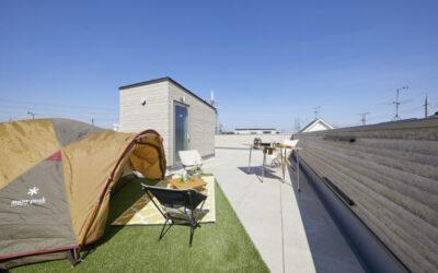 収納計画バッチリ!屋上で遊べる家