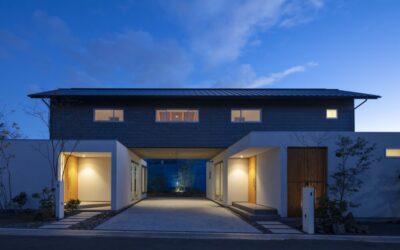 デザインにこだわった、〝完全分離二世帯住宅〟