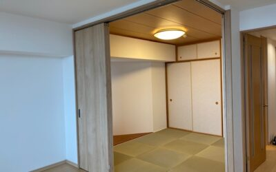 リビング和室改修工事
