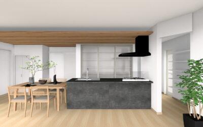 【HOUSECODE】完成見学会 in大阪狭山市 家族時間を楽しむキッチンが中心の家